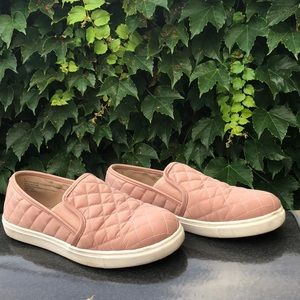 Slip on Pink Quilter Sneakers